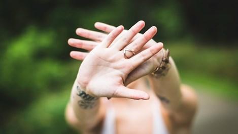 Болестите са изписани на ръцете