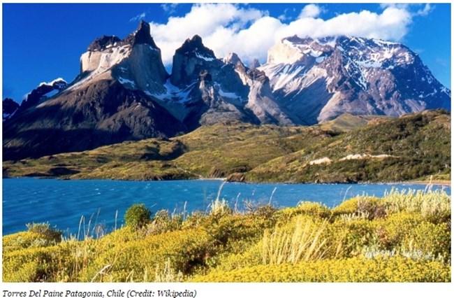 Торес дел Пайне Патагония, Чили Снимка: forbes.com