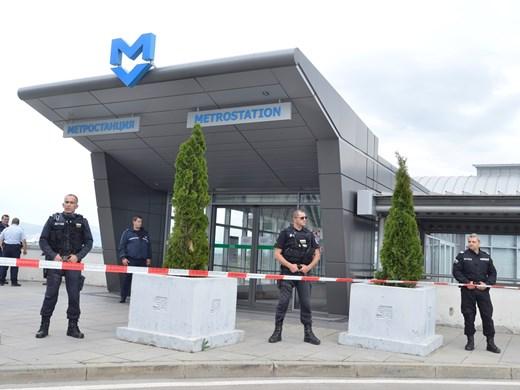 """Мъж и жена простреляни в метрото до летище """"София"""""""