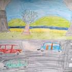 Деца рисуват мръсотия