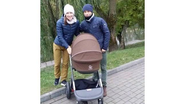 Дария и Оле разкриха името на бебето си