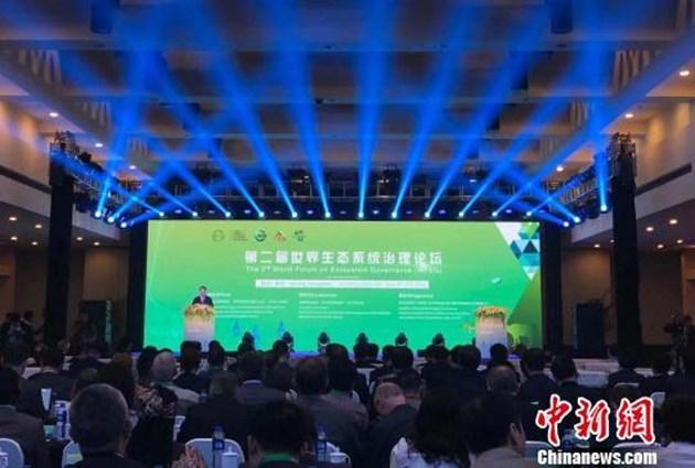 В град Ханджоу бе открит Вторият световен форум за управление на екосистемите