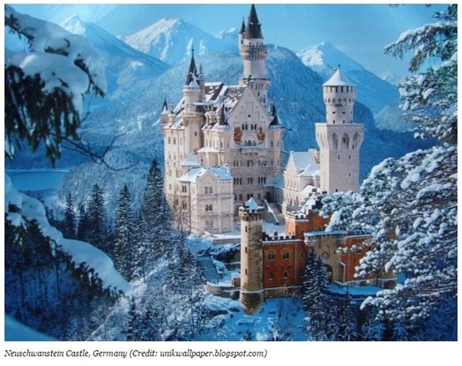 Замъкът Нюшванстайн, Германия Снимка: forbes.com