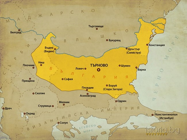 България след управлението на Иван Асен II.
