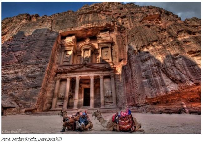 Древният град Петра, Йордания Снимка: forbes.com