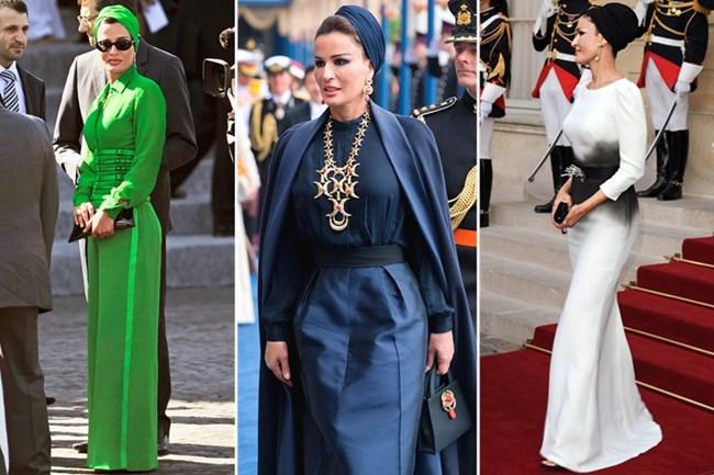 Шейха Моза бин Насер ал Миснед е втората съпруга на емира на Катар.