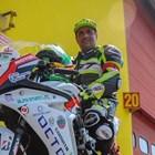 Парализираният Сергей се състезава с мотор