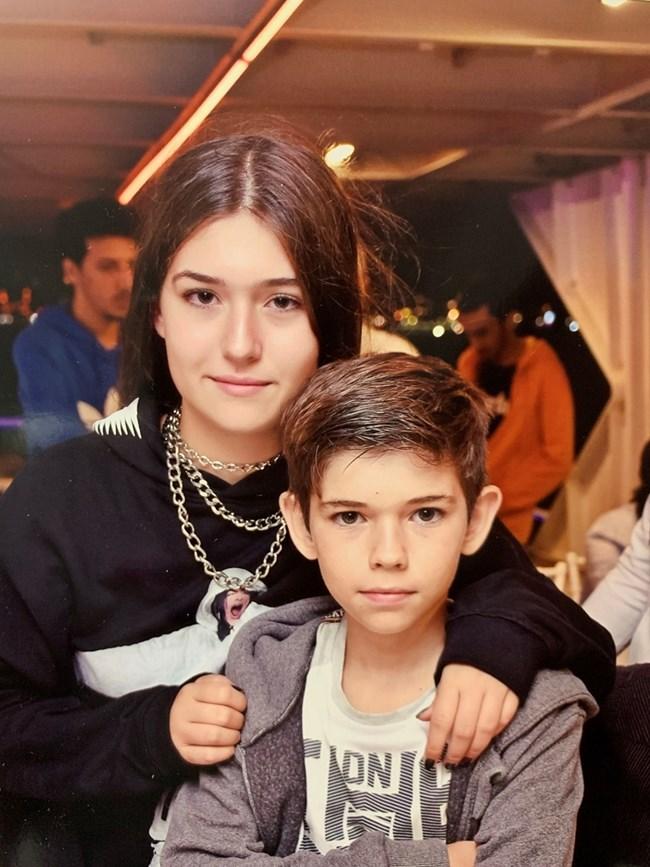 Децата на Ваня Ананиева - Мариела и Калоян