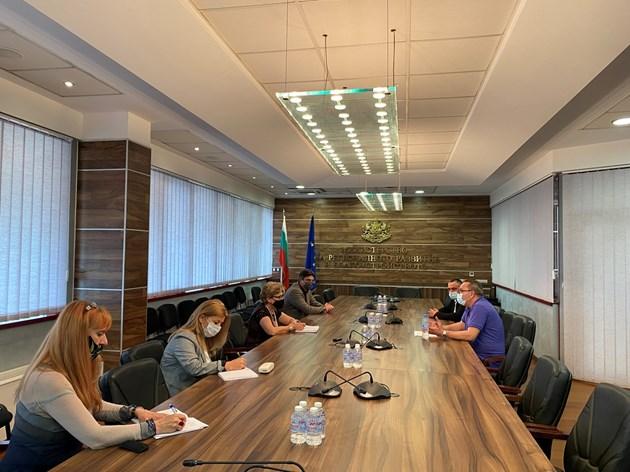"""Стоян Беличев обсъди с Комитова смяната в ръководството на """"Автомагистрали"""""""