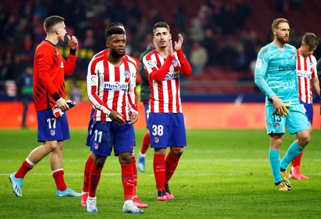 """Короната удари """"Атлетико"""" (Мадрид)"""