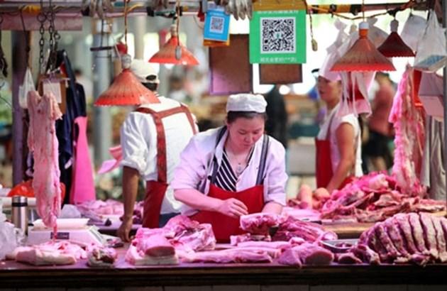 Китай отпусна 10 000 тона свинско месо от централния резерв