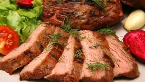 Свинско филе с букет от подправки