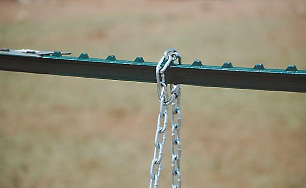 С веригата контролирате колко да се отваря порталът