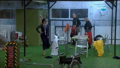 Девет от звездите във VIP Brother се преместиха в лудницата
