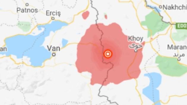 Най-малко 8 загинали в Турция при земетресението на границата с Иран