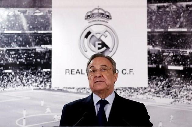"""Президентът на """"Реал"""" не се е отказал от проекта"""