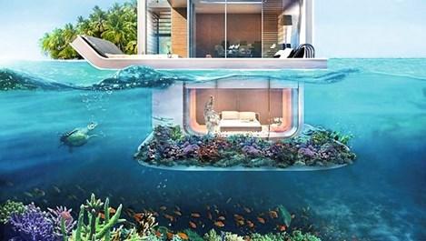 В Дубай ще строят къща със спалня на морското дъно