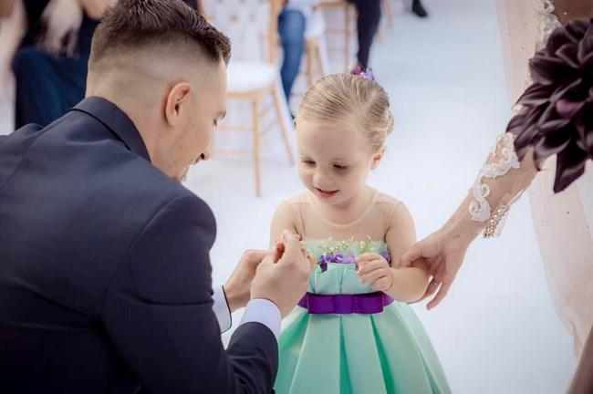 Георги с малката Илиана