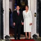 Вижте приема на кралица Елизабет за лидерите на НАТО, Десислава Радева в бяло (Галерия)