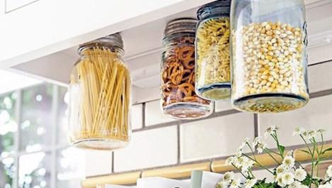 Идеи за висящи рафтове в жилището (галерия)