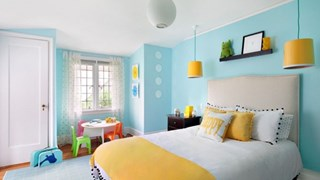 Цветни идеи за интериора (галерия)