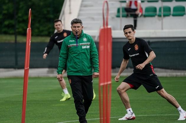 Красимир Балъков направи стратегия за националния тим, докато бе селекционер