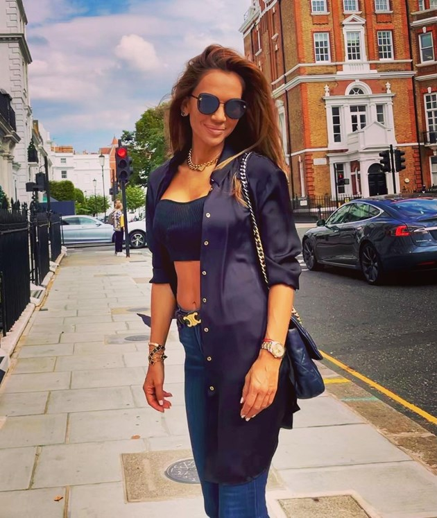 Ивайла Бакалова се радва на слънчев Лондон