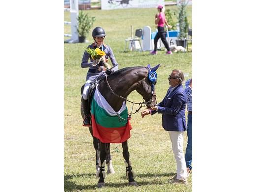 Ивана Ангелова завоюва сребро на Балканиадата по конен спорт, Деси Миланова с бронз
