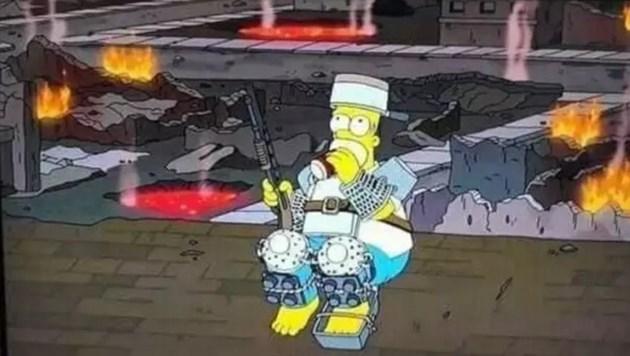 Симпсън пророкуват апокалипсис на 20 януари 2021-ва