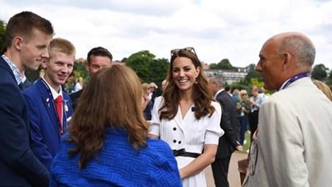 Колко струва роклята на Кейт, с която се появи на Уимбълдън?
