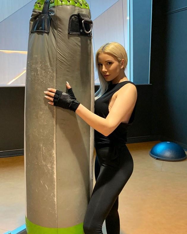 Емилия стана боксьорка