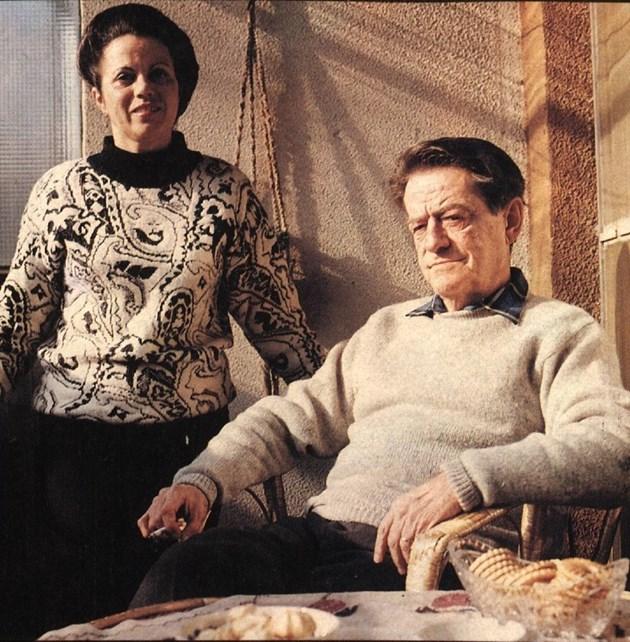 Калинка със съпруга си Стефан