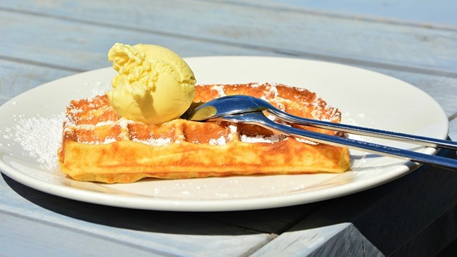 Домашен лимонов сладолед