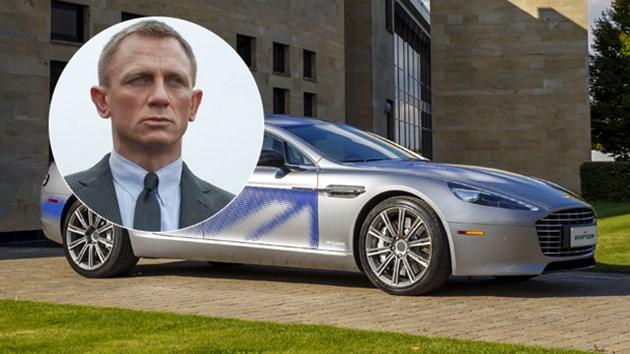"""Джеймс Бонд ще шофира електромобил """"Астън Мартин"""" в нов филм"""