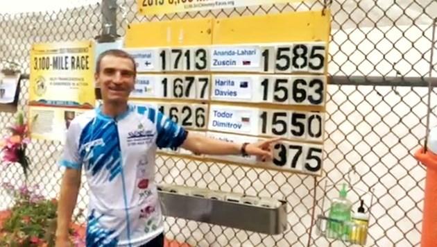2700 км пробяга българин