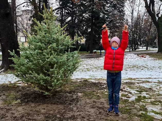 Синът на Милен Цветков засади дърво в негова памет