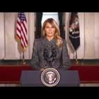 Мелания Тръмп: Да съм първата дама на САЩ бе най-голямата чест в живота ми