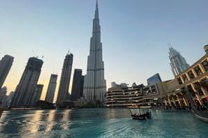 Климатичните промени няма да подминат и Дубай.  СНИМКА: РОЙТЕРС