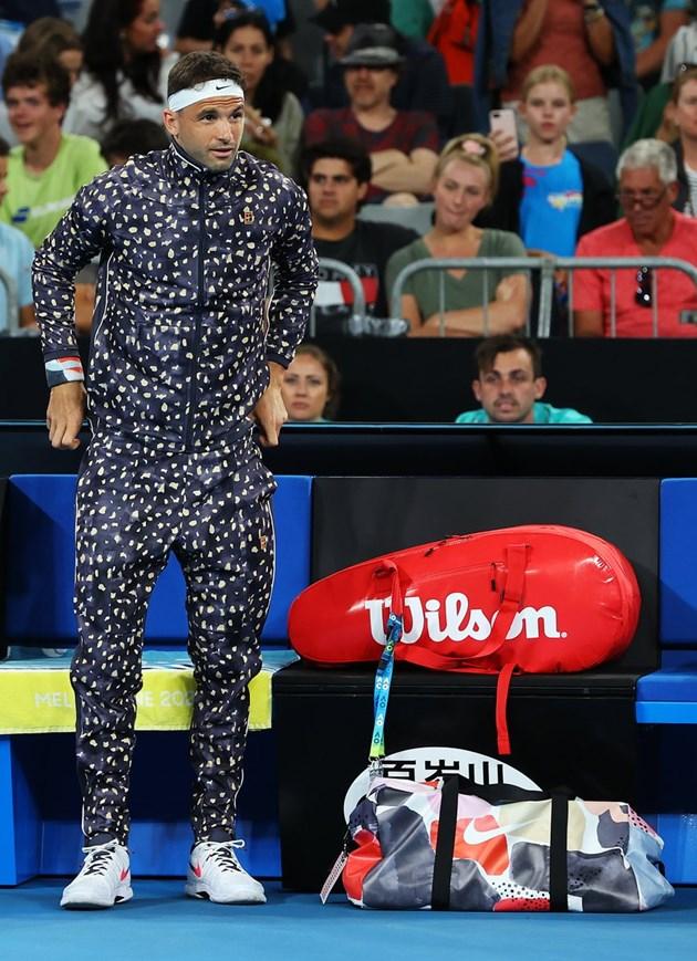 Пижамата на Гришо побърка феновете в Мелбърн