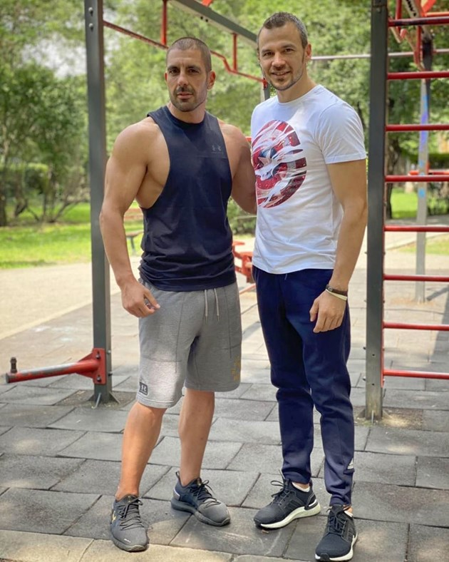 Ивайло Захариев помпа мускули за новата