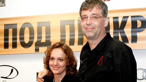 Параскева Джукелова се раздели с мъжа си