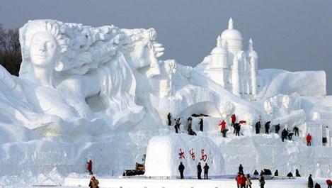 Започва Леденият фестивал в Харбин, Китай (Снимки и видео)