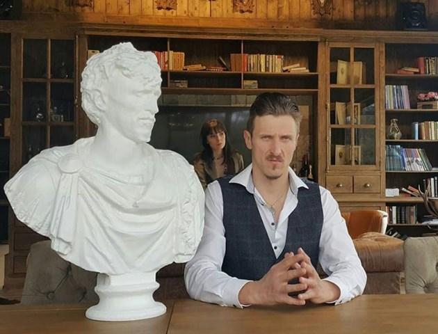 Вдигнаха паметник на Димо Алексиев