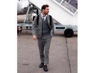 Меси с частен самолет