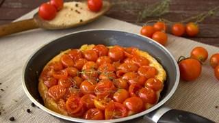 Тарт с домати и моцарела