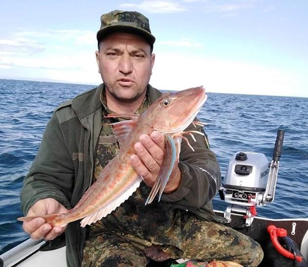 Рядката риба хваната край Созопол