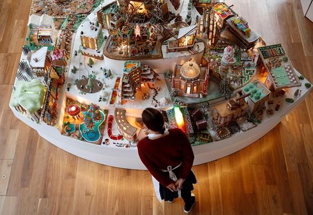 Градското планиране е вкусно: Архитекти представиха град сладкиш на бъдещето (Снимки)