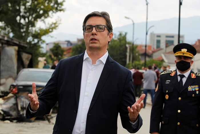 Македонският президент Стево Пендаровски обяви, че няма нови разговори с България. СНИМКИ: РОЙТЕРС
