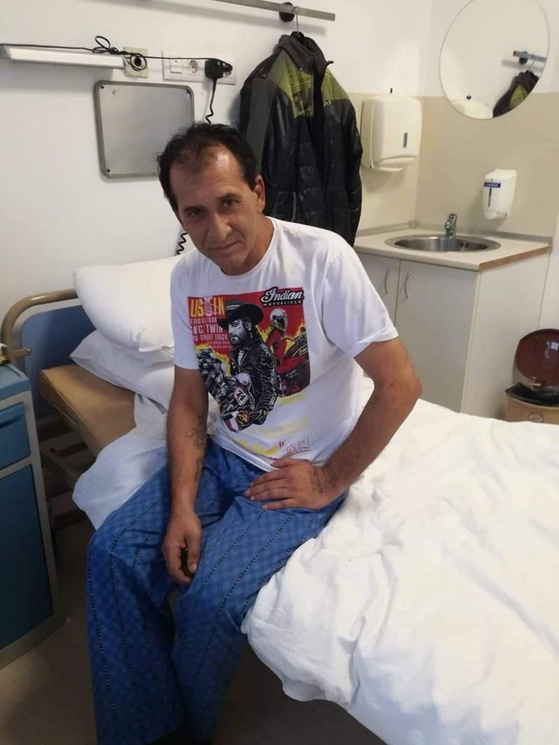 Спасеният пациент Александър  Иванов