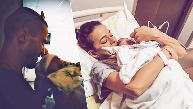 Наум Шопов с бебе Амая